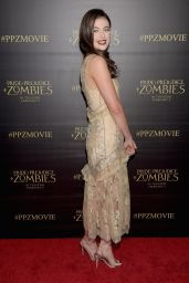 Millie Brady – 'Pride and Prejudice and Zombies' Premiere at Harmony Gold Theatre in LA, January 2016