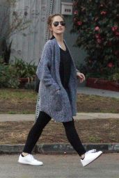 Minka Kelly Street Style - Out in Los Angeles, CA January 2016