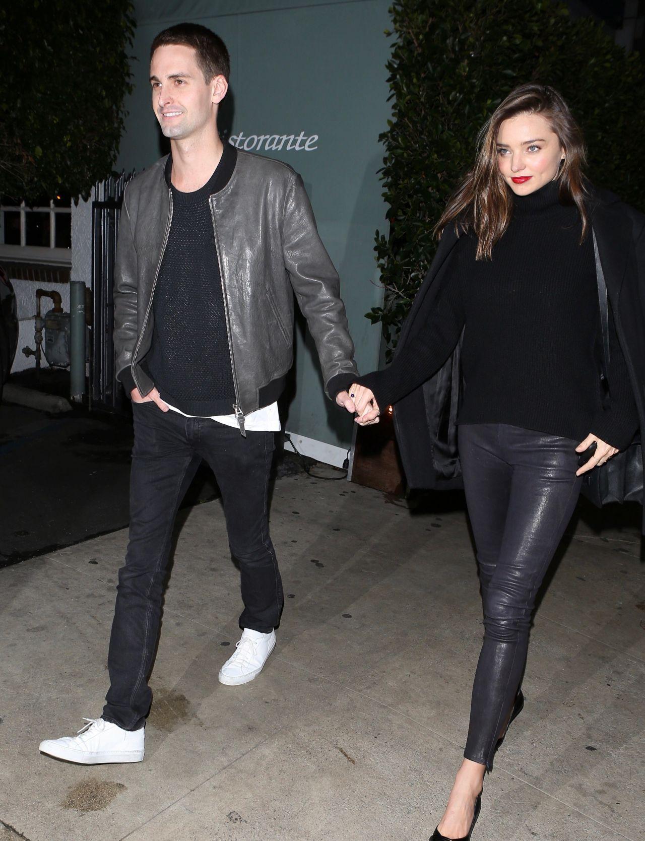 Miranda Kerr Night Out Style – Beverly Hills 1/7/2016