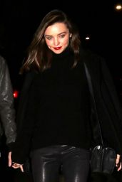 Miranda Kerr Night Out Style - Beverly Hills 1/7/2016