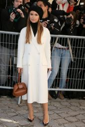 Miroslava Duma – Arrivals at Haute Couture Fashion Show Christian Dior Spring-Summer 2016 in Paris