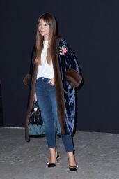 Miroslava Duma - Atelier Versace show, Autumn Winter 2016, Haute Couture, Paris Fashion Week