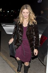 Mischa Barton Night Out Style - at The Nice Guy in West Hollywood, January 2016