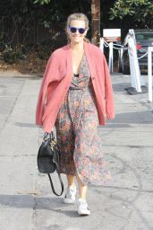 Molly Sims - Out in Brentwood 1/14/2016