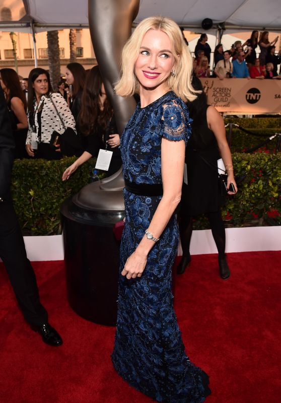 Naomi Watts – SAG Awards 2016 at Shrine Auditorium in Los Angeles