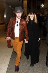 Natalie Dormer at LAX Airport, 1/11/2016