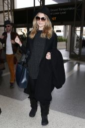 Natalie Dormer at LAX Airport, 1/11/2016