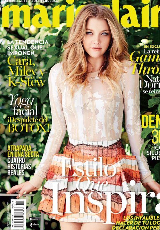 Natalie Dormer - Marie Claire Magazine Mexico February 2016 Cover