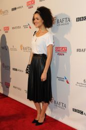Nathalie Emmanuel - 2016 BAFTA Los Angeles Awards Season Tea in Los Angeles, CA
