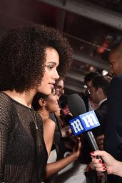 Nathalie Emmanuel – 2016 People's Choice Awards in Microsoft Theater in Los Angeles