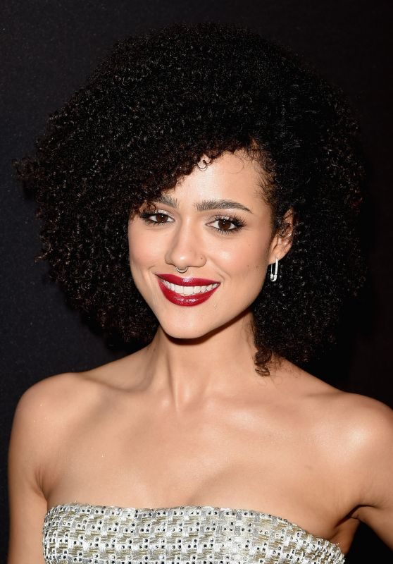 Nathalie Emmanuel – InStyle And Warner Bros. 2016 Golden Globe Awards Post-Party in Beverly Hills