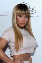 Nicki Minaj - Celebrating the New Year at Drai