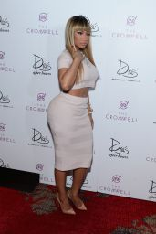 Nicki Minaj - Celebrating the New Year at Drai