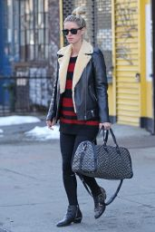 Nicky Hilton Winter Style - Out in in NYC 1/27/2016