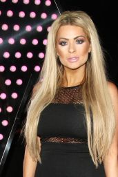 Nicola McLean Night Out Style -  London 1/9/2016