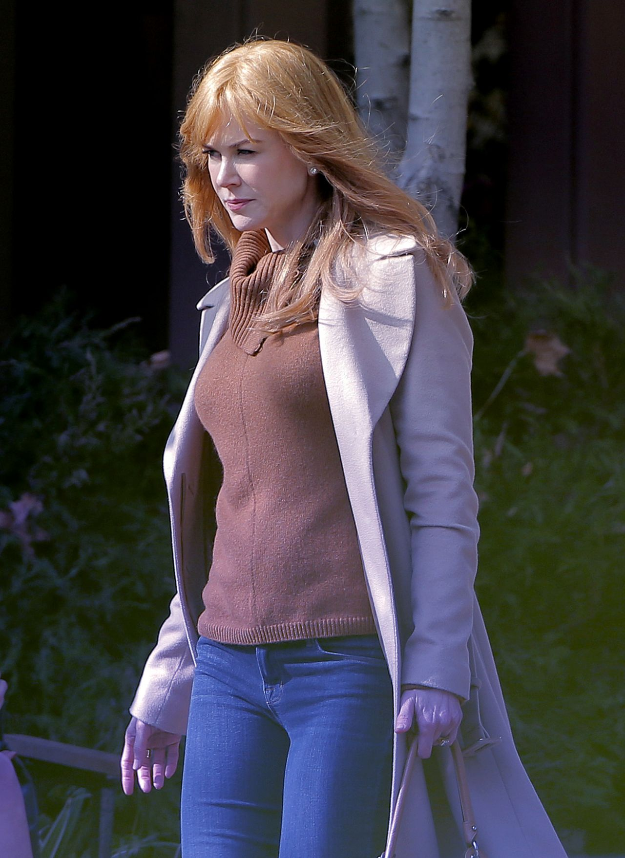 Nicole Kidman Big Little Lies Set Photos In Los