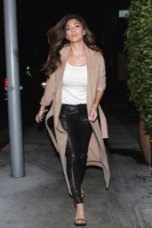 Nicole Scherzinger Night Out Style - at E Baldi in Beverly Hills 1/13/2016
