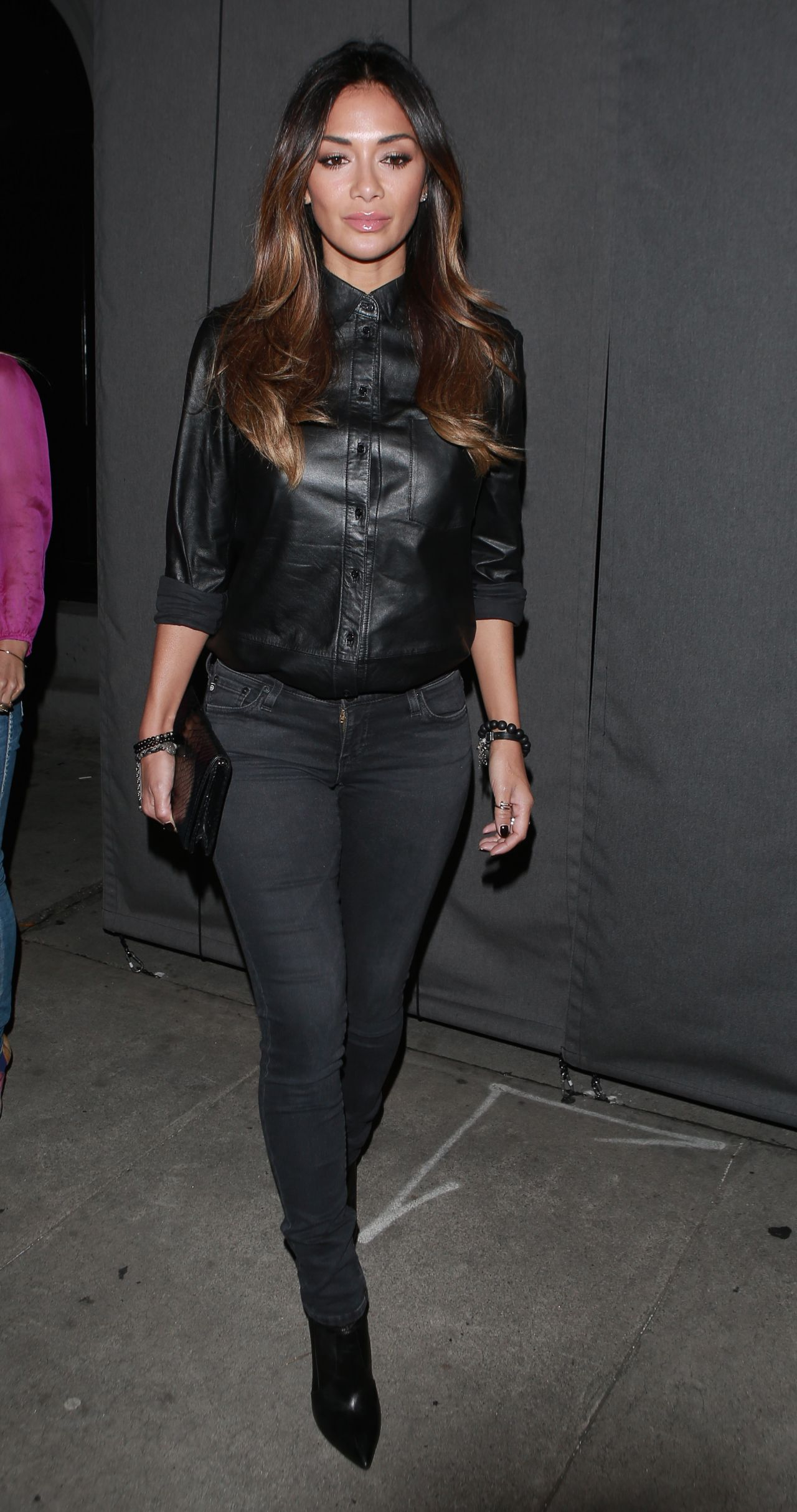 Nicole Scherzinger Night Out Style – Craigs Restaurant in West ...