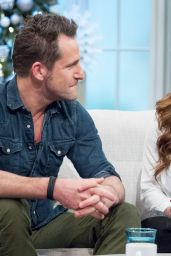 Nikki Sanderson Appeared on Lorraine Tv Show in London 12/29/2015