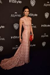 Nina Dobrev – InStyle And Warner Bros. 2016 Golden Globe Awards Post-Party in Beverly Hills