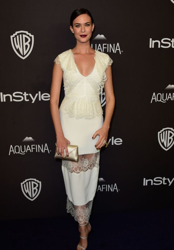 Odette Annable - InStyle And Warner Bros. Golden Globe Awards 2016 Post-Party in Beverly Hills