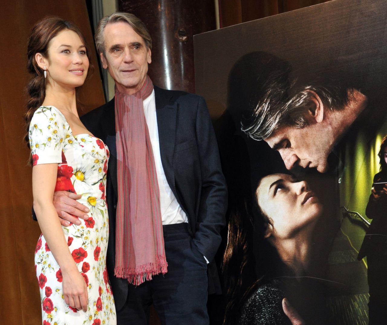 Anne Hathaway Graham Norton: 'La Corrispondenza' Photocall In Rome