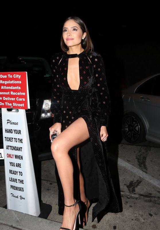 Olivia Culpo Night Out Style - at Craig