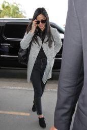 Olivia Munn Airport Style - LAX in Los Angeles, CA 1/11/2016