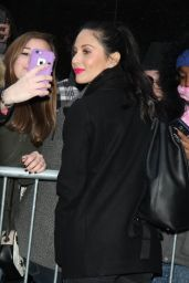 Olivia Munn - Arriving to Appear on Good Morning America in NYC 1/15/2016