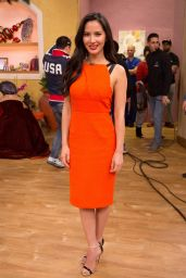 Olivia Munn - Despierta America Morning Show in Miami 1/6/2016