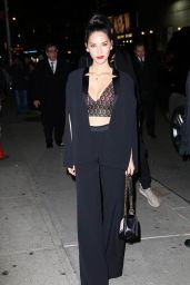Olivia Munn - Heading to The Late Show With Stephen Colbert in New York City 1/14/2016