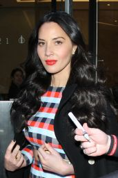 Olivia Munn - SiriusXM Studios in New York City 01/13/2016