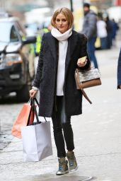 Olivia Palermo - Out in New York City, January 2016