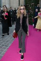 Olivia Palermo - Schiaparelli Spring Summer 2016 Show - Paris Fashion Week 1/25/2016