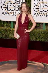 Olivia Wilde – 2016 Golden Globe Awards in Beverly Hills