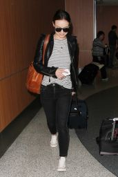 Olivia Wilde Airport Style - LAX in Los Angeles 1/27/2016