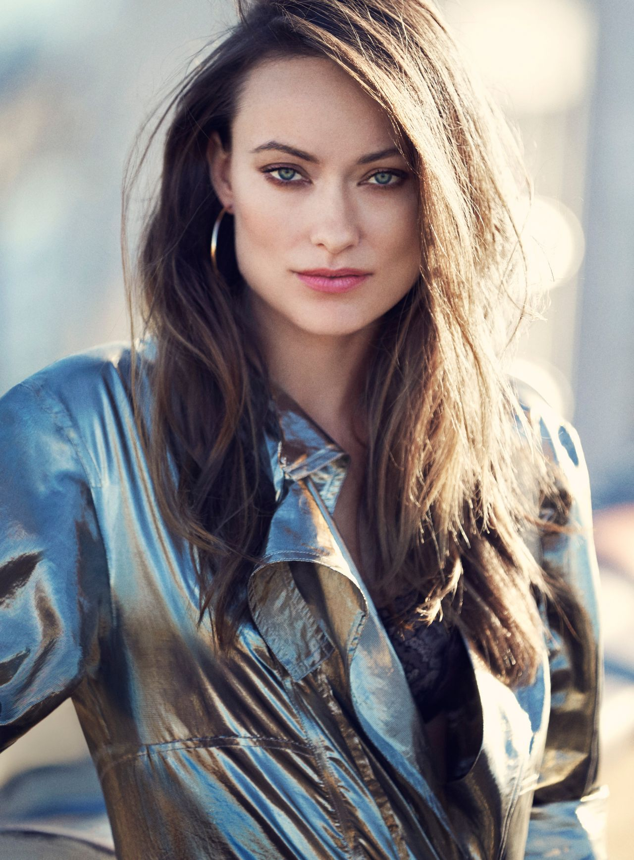 Olivia Wilde Photo Shoot For Elle February 2016
