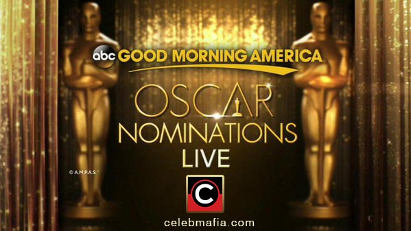 Oscars 2016 Nominees Announcement and Live Stream