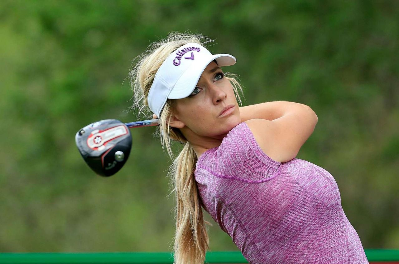 Paige spiranac 2015 omega dubai ladies masters and press for Best women pictures