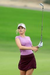 Paige Spiranac – 2015 Omega Dubai Ladies Masters and Press Conference 1/2/2016