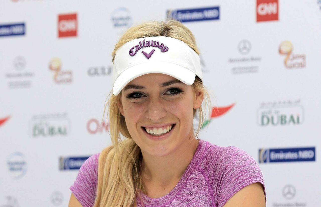 Paige Spiranac - 2015 Omega Dubai Ladies Masters and Press