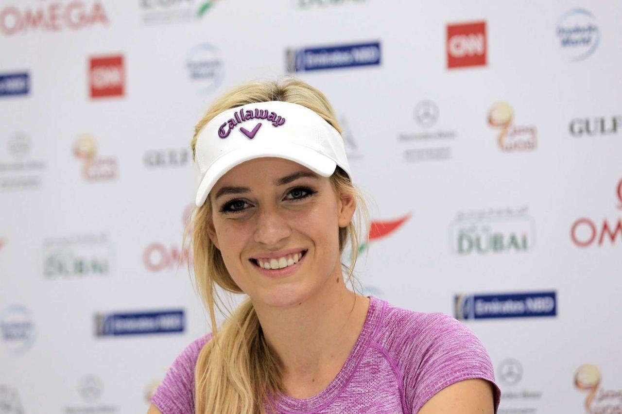 Paige Spiranac 2015 Omega Dubai Ladies Masters And Press