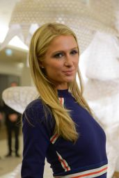 Paris Hilton - Er Xi Exhibition Opening by Artist Ai Weiwei at the Bon Marche Rive Gauche Store in Paris