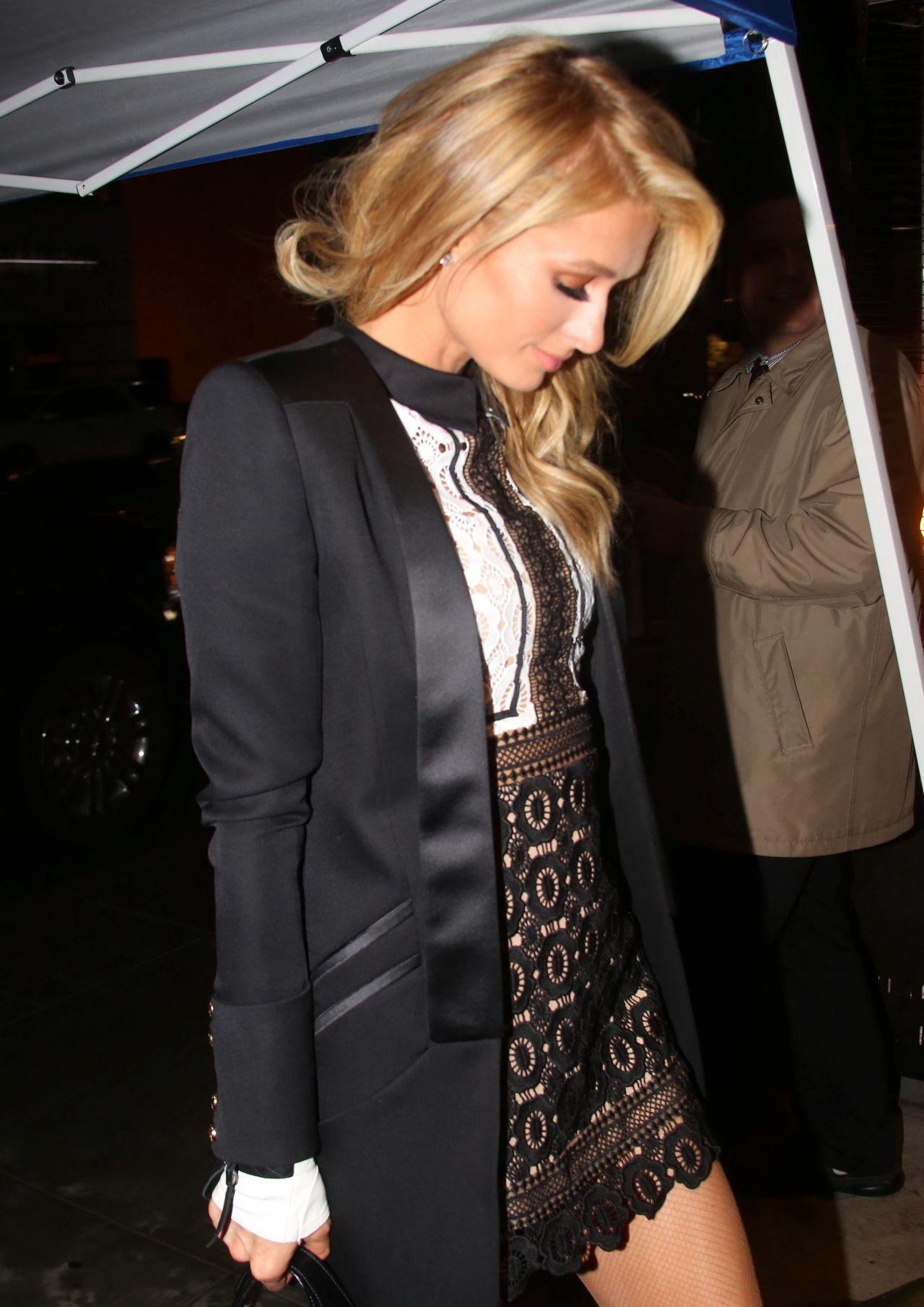 Paris Hilton Night Out Style
