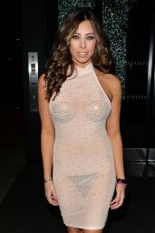 Pascal Craymer Night Out Style - Nobu Restaurant in Park Lane, January 2016