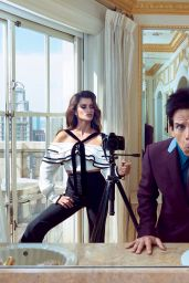 Penelope Cruz & Ben Stiller - VOGUE Magazine Cover and Photos, February 2016