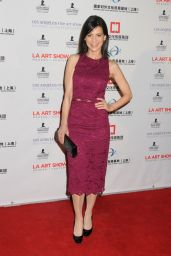 Perrey Reeves – LA Art Show and Los Angeles Fine Art Show's 2016 Opening Night Premiere Party