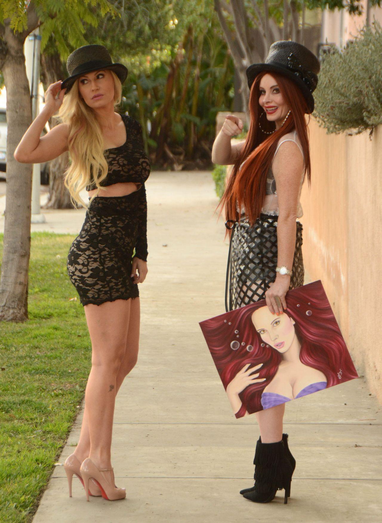 Phoebe Price and Ana Braga - Celebrate National Hat Day in