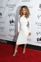 Pia Toscano - Jennifer Lopez All I Have Residency Launch in Las Vegas, January 20, 2016