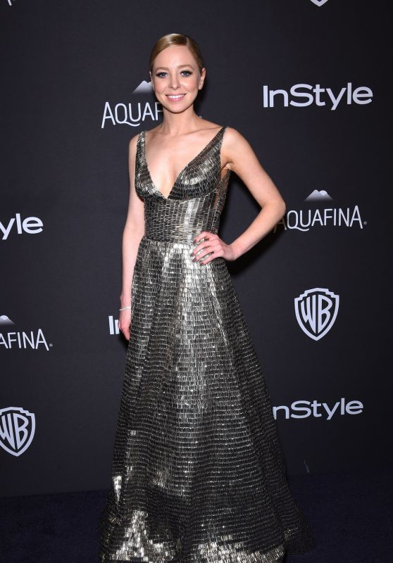 Portia Doubleday - 2016 InStyle & Warner Bros. Golden Globe Awards Post-Party in Beverly Hills